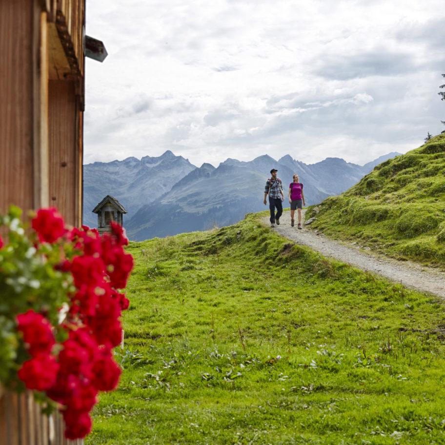 Wanderkarte Bregenzerwald