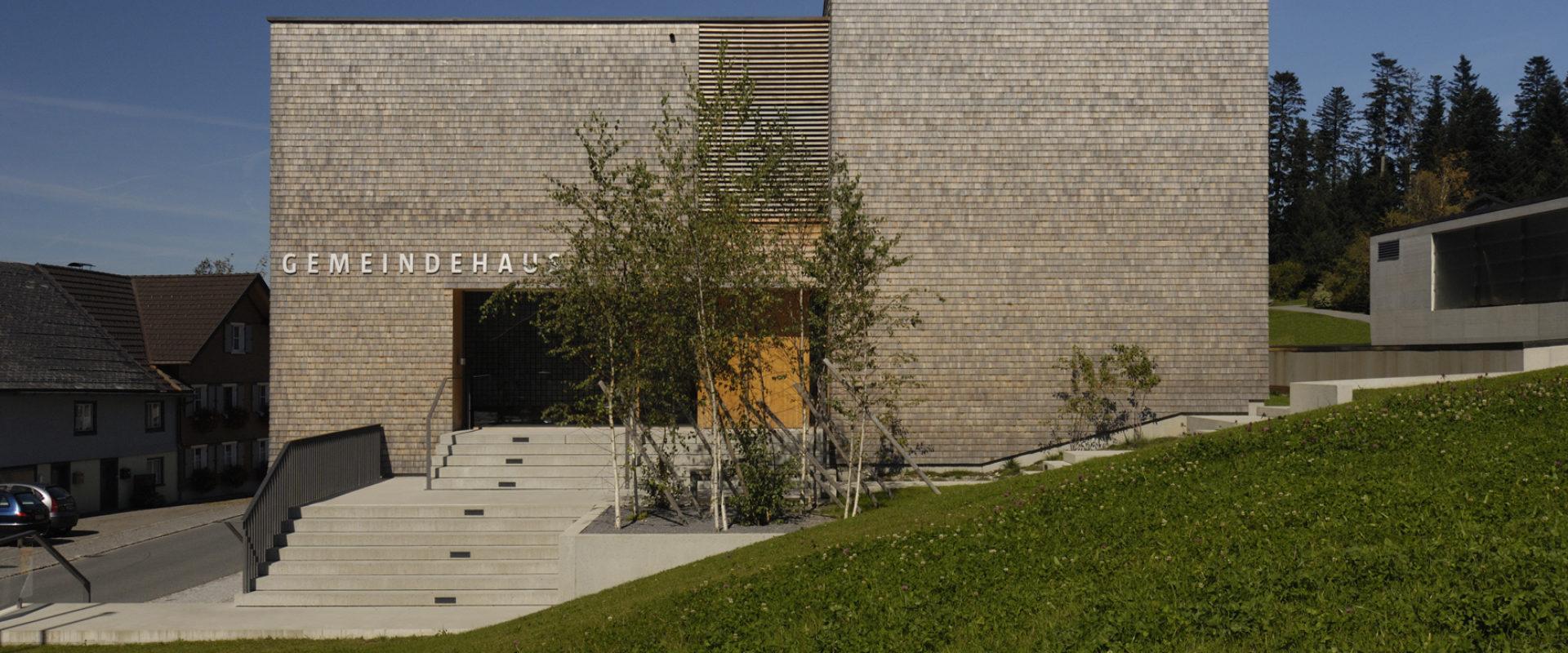 Gemeindehaus Sulzberg © Nina Baisch_Gemeinde Sulzberg