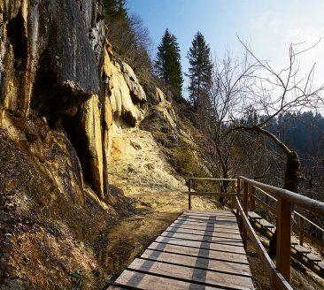 Quelltuff in Lingenau