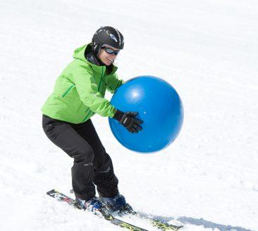 Les cours de ski de « ski! Projekts »