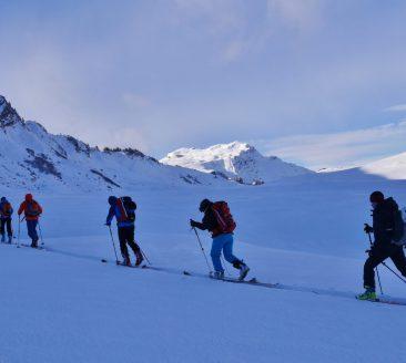 Skitour mit Moses