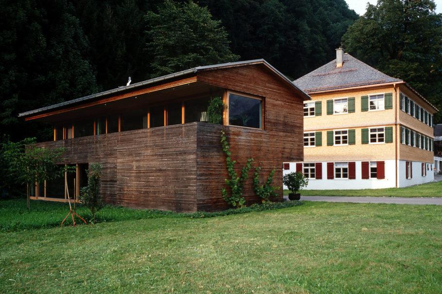 Architektur Alt-Neu © Christoph Lingg / Bregenzerwald Tourismus