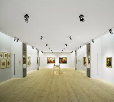 Ausstellungsraum Angelika Kauffmann Museum Schwarzenberg © Adolf Bereuter / AK Museum