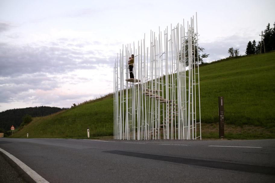 BUS Stop Krumbach © Felix Friedmann / Bregenzerwald Tourismus