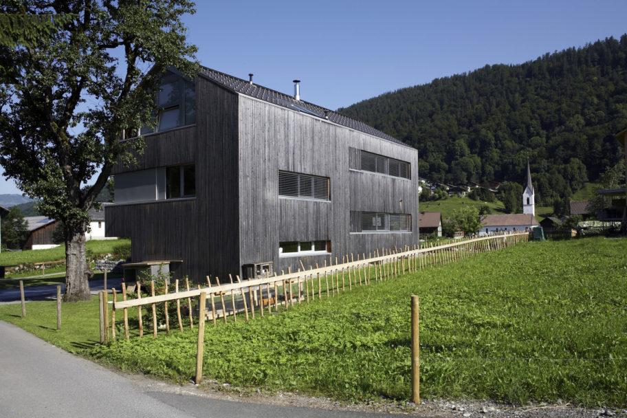 Einfamilienhaus in Bizau © Christoph Lingg / Bregenzerwald Tourismus