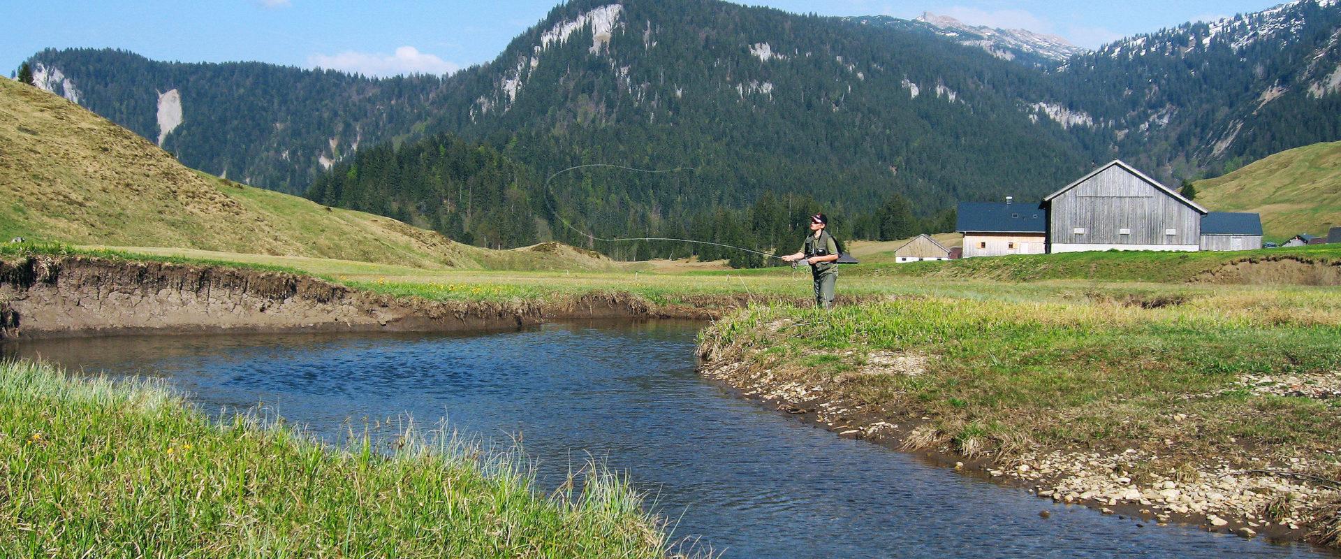 Fischen im Bregenzerwald © Michael Namberger / Bregenzerwald Tourismus