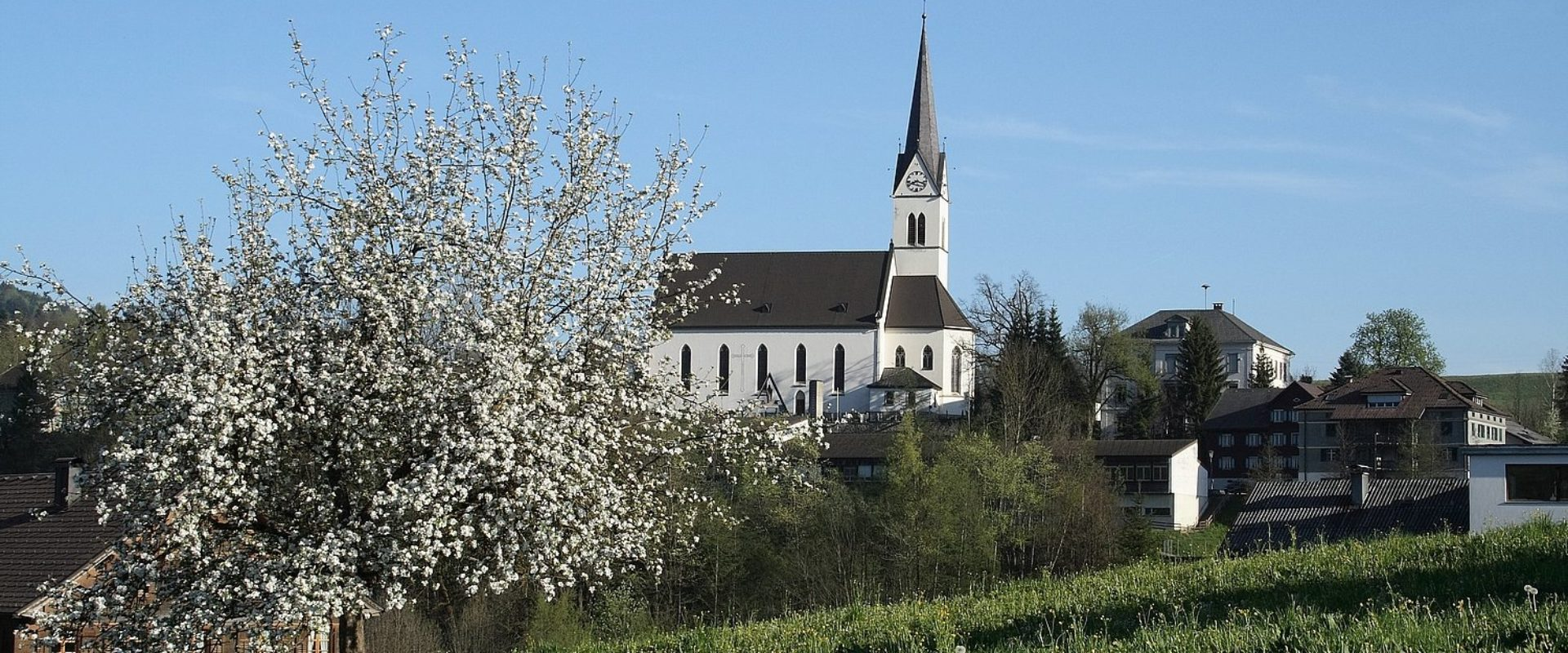 Kirche Frühling © Tourismusverein Egg / Egg Tourismus