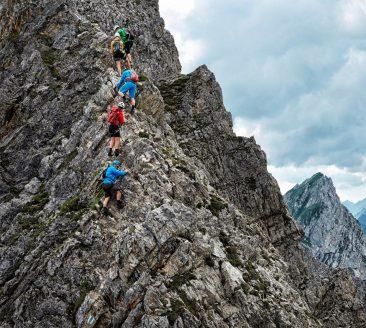 Klettern im Bregenzerwald auf dem Karhorn © Adolf Bereuter / Bregenzerwald Tourismus