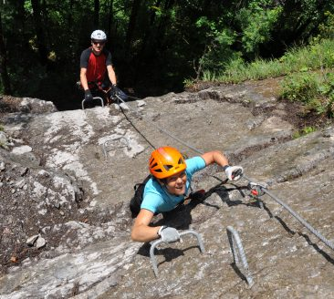 Klettersteig in Mellau-Schnepfau © Bernhard Bischof / Mellau Tourismus
