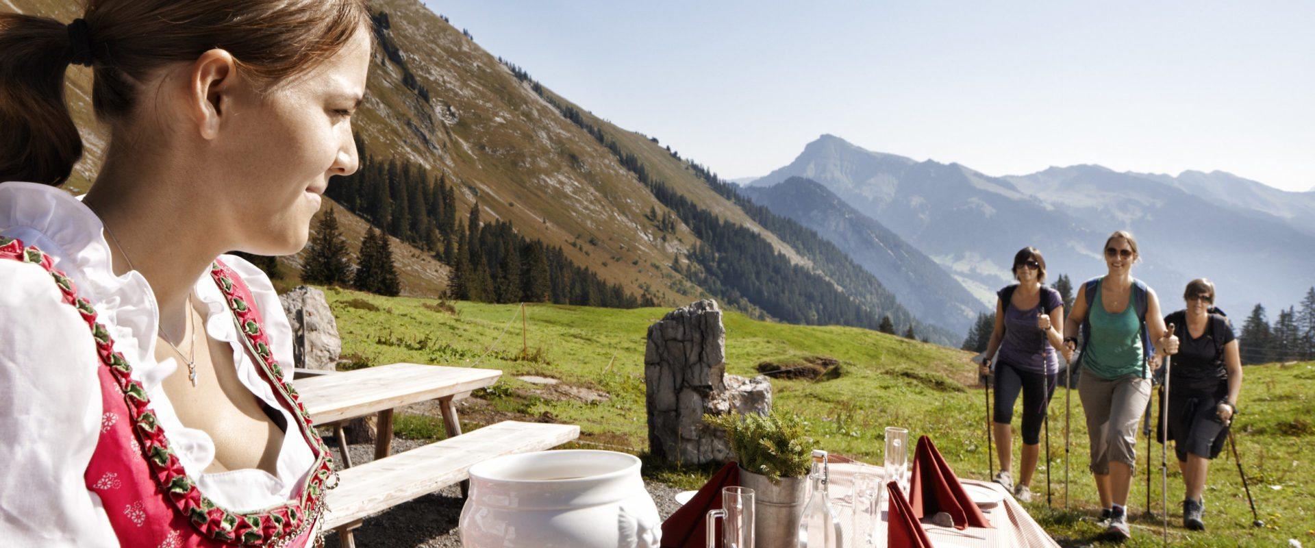 Kulinarisch wandern - Mellau © Adolf Bereuter / Bregenzerwald Tourismus