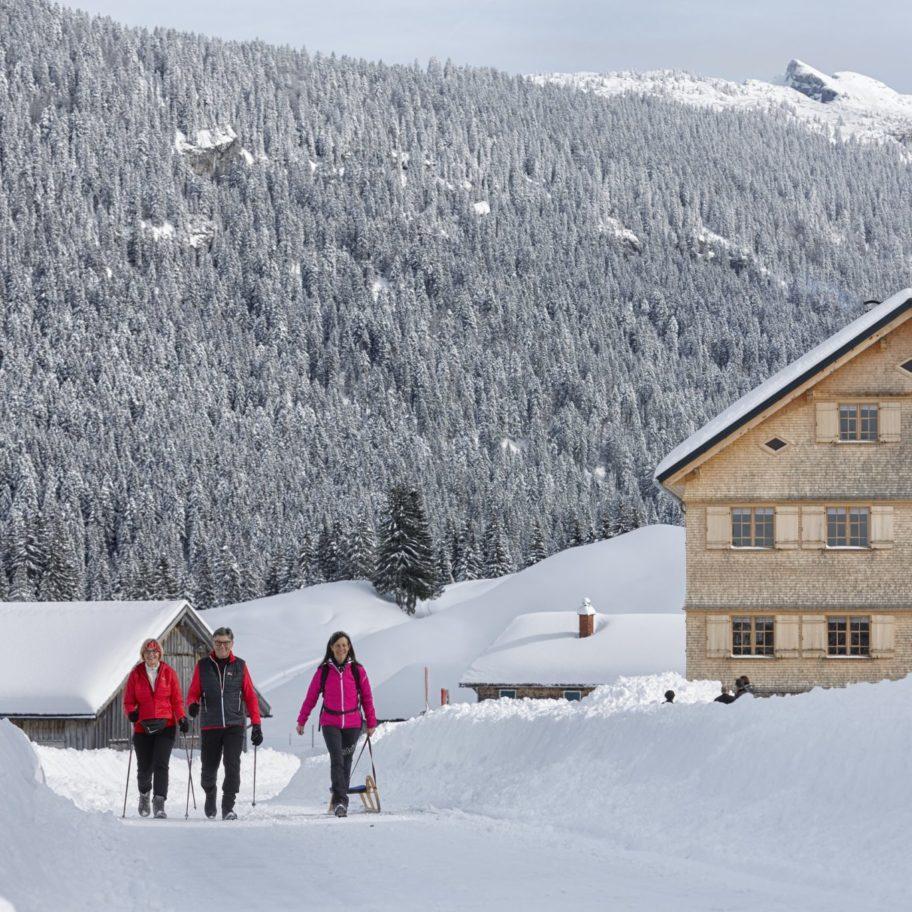 Kulinarisch Winterwandern – Sibratsgfäll-Schönenbach