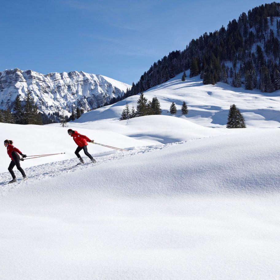 Langlaufen Bregenzerwald