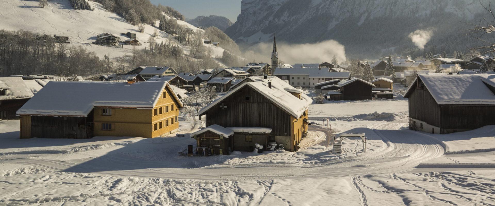 Mellau im Winter © Hermann Hager / Mellau Tourismus