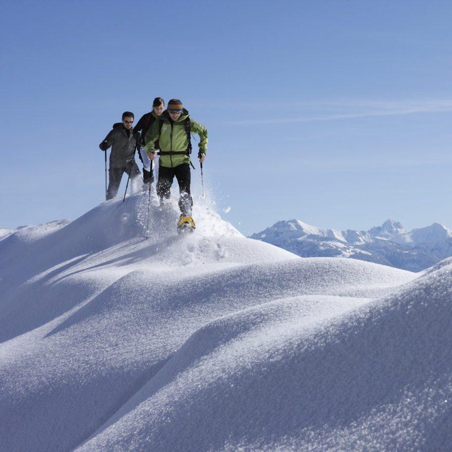 Schneeschuhwandern & Winterwandern