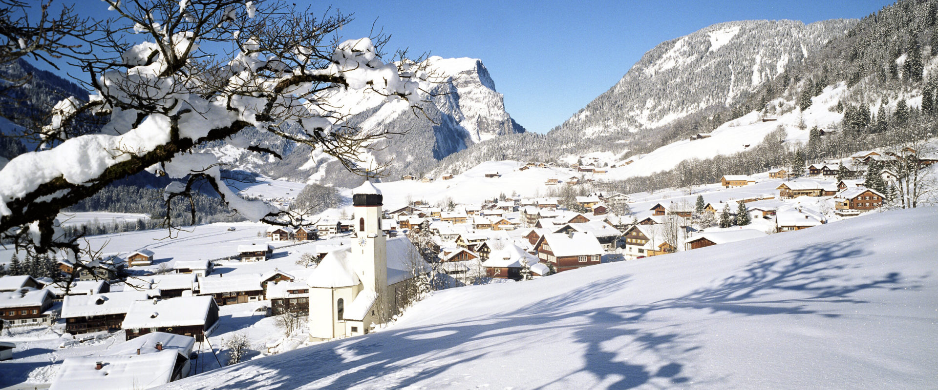 Schoppernau © Christoph Lingg / Bregenzerwald Tourismus