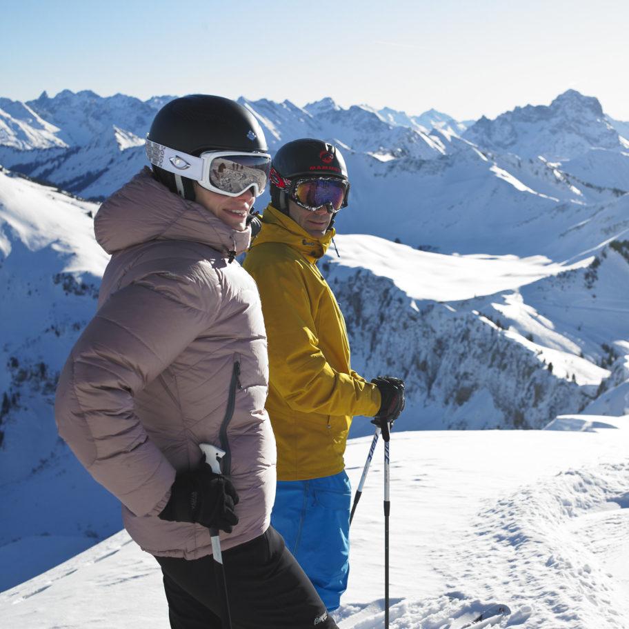 Skigebiet Diedamskopf Au-Schoppernau