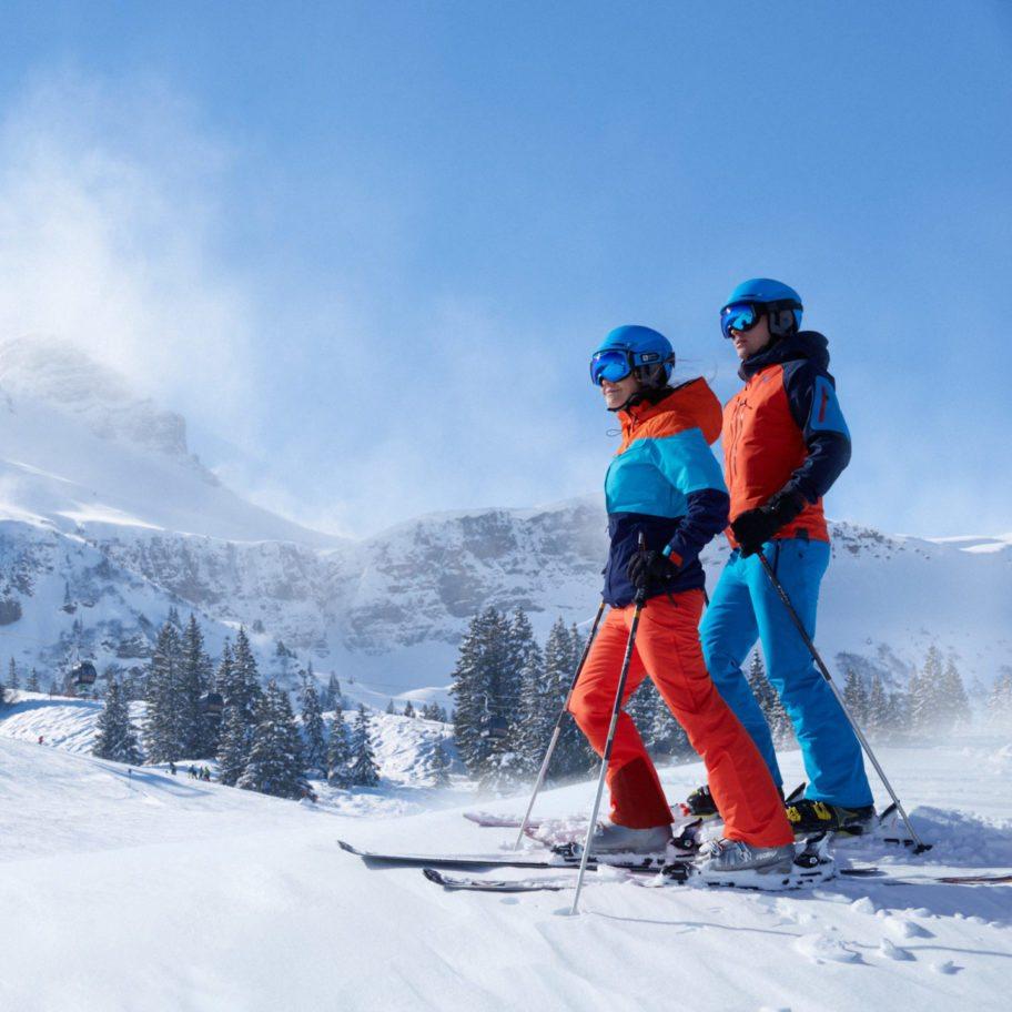 Skifahren im Bregenzerwald © Adolf Bereuter / Bregenzerwald Tourismus