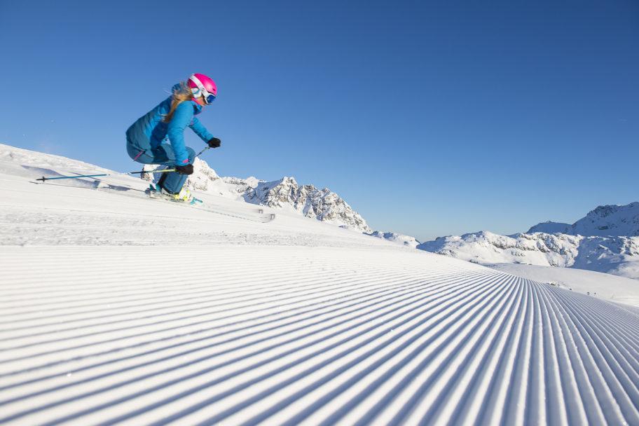 Skifahren in Warth-Schröcken © Alex Kaiser / Skilifte Warth