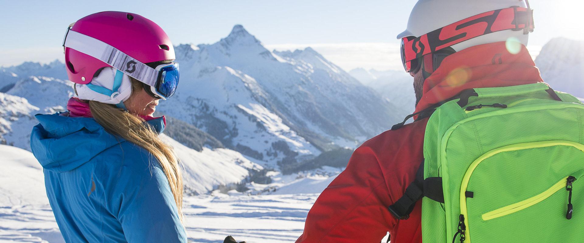 Skiing in Warth-Schröcken