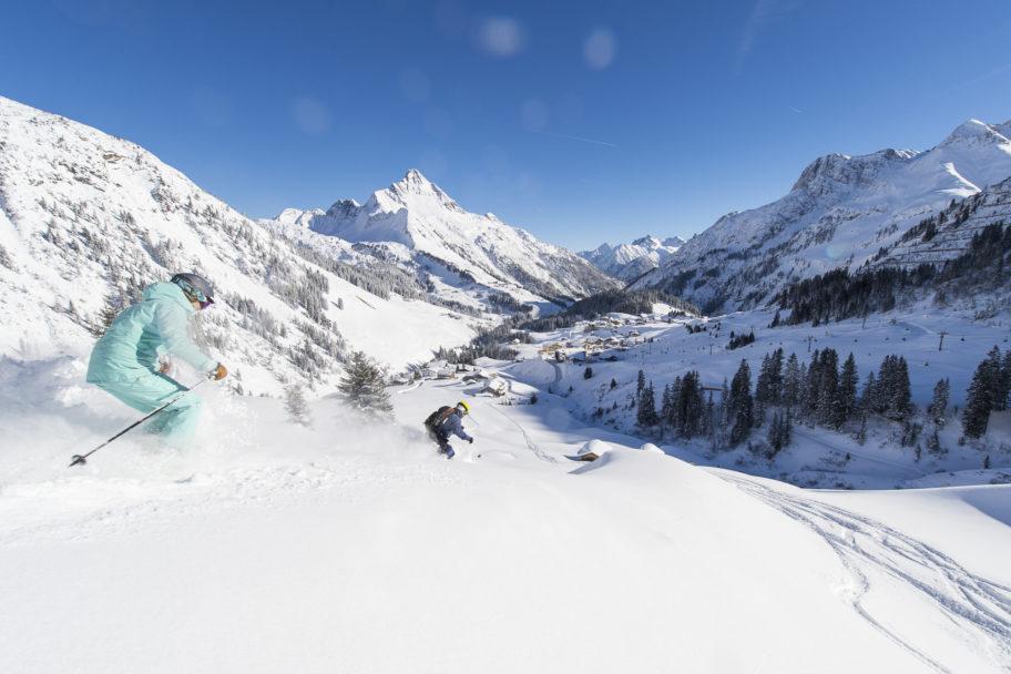 skifahren warth © Alex Kaiser / Warth-Schröcken Tourismus