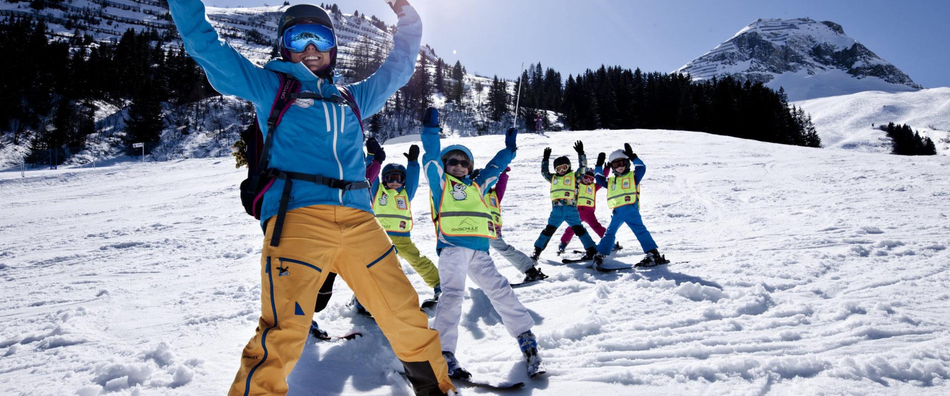 Skifahren Warth-Schroecken_skischule warth (4) © N.N. / Skischule Warth