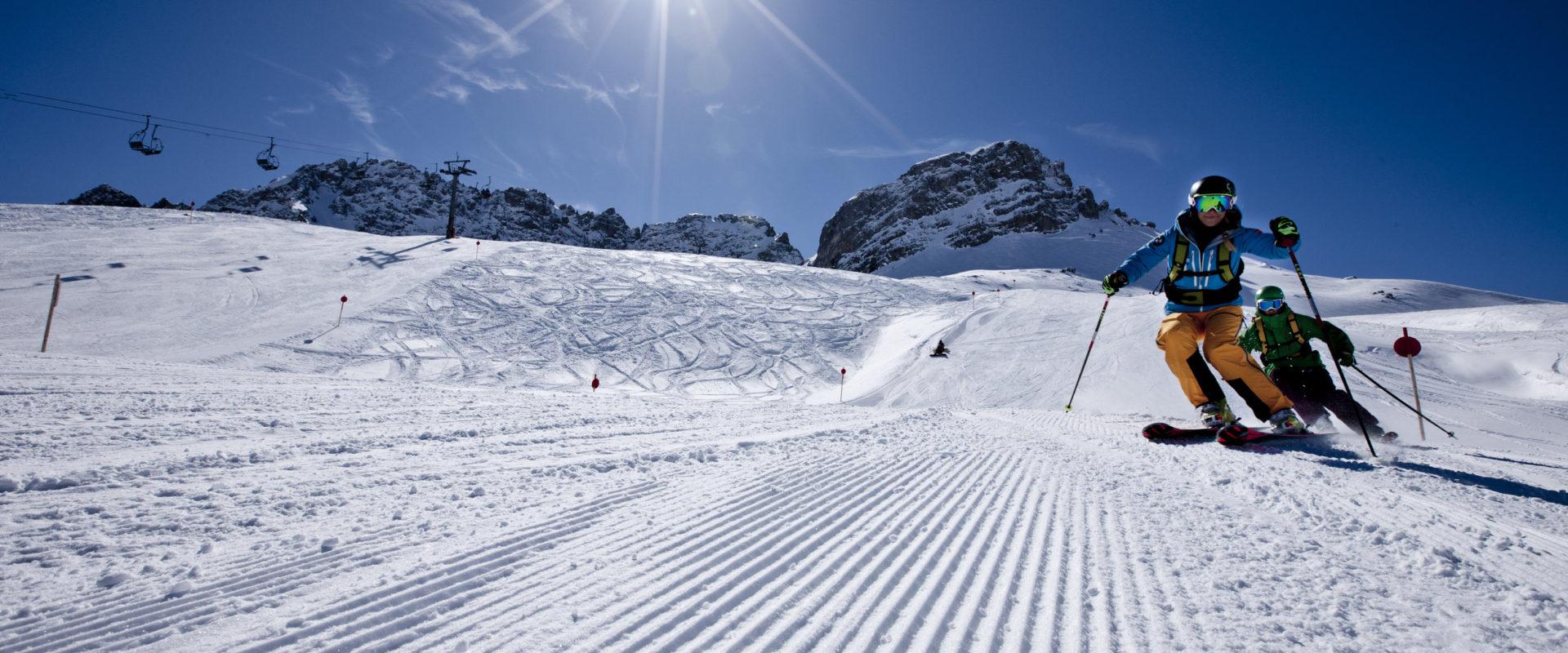 Skifahren Warth-Schroecken_skischule warth (47) © N.N. / Skischule Warth