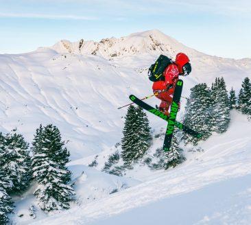 Skischule Salober-Freeride © N.N. / Skischule Salober-Schröcken