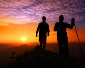 Sonnenaufgang Kanisfluh © Ludwig Berchtold / Mellau Tourismus