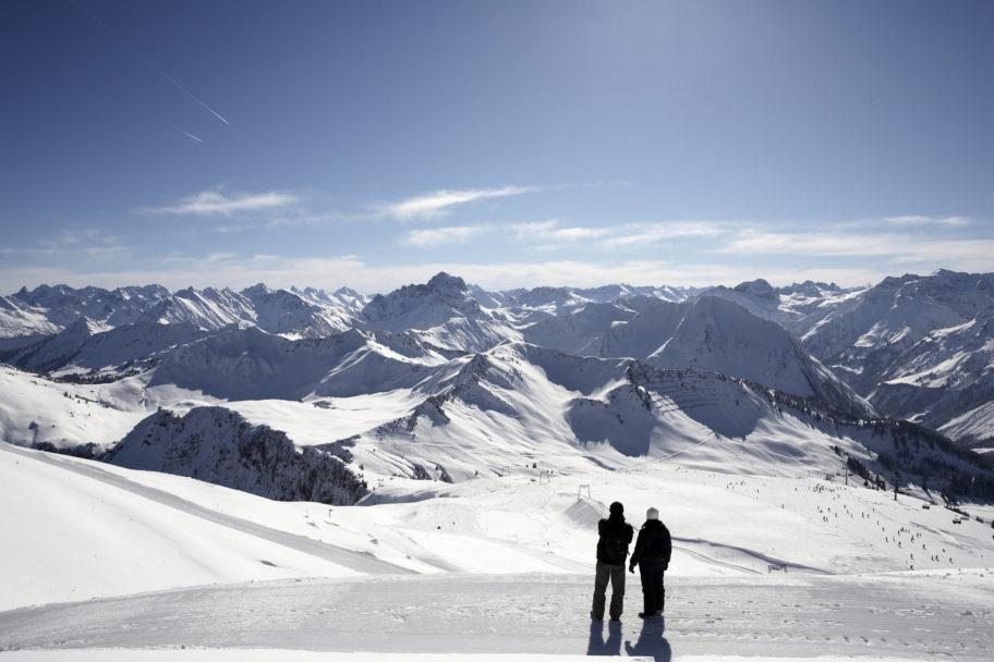 Winterwandern auf dem Diedamskopf © Christoph Lingg / Bregenzerwald Tourismus