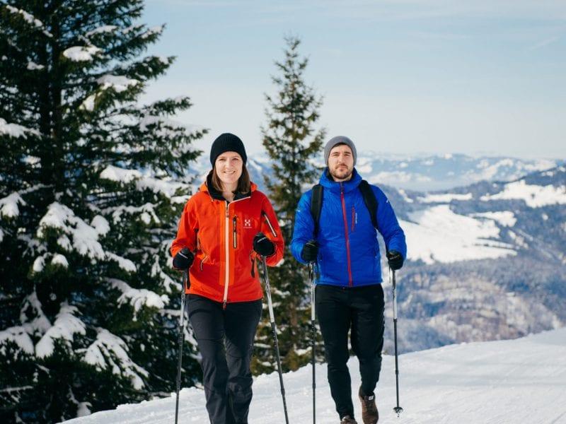 winterwandern Baumgarten Bezau © Benjamin Schlachter / Bregenzerwald Tourismus