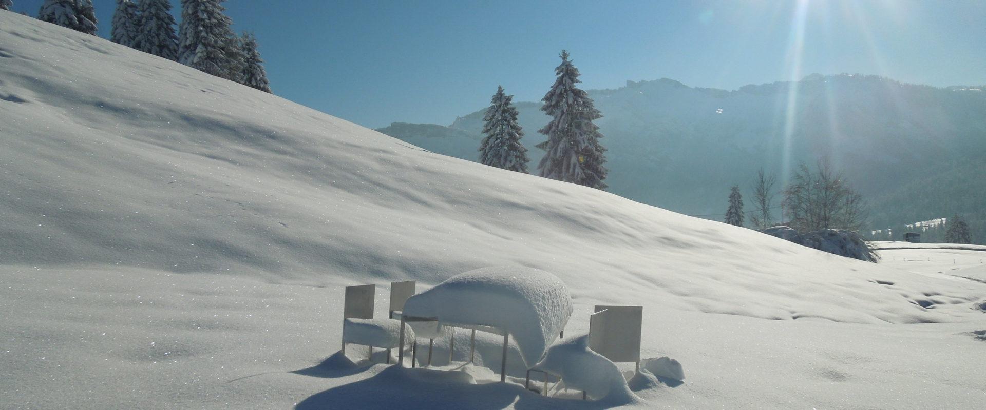Winterwandern Georunde Rindberg Sibratsgfaell © Stadelmann/Verein