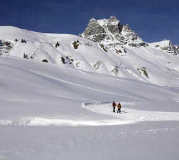 Winterwandern in Schröcken © Christoph Lingg / Bregenzerwald Tourismus