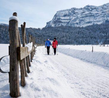 Winterwandern Mellau - Bizau - Bezau © Ludwig Berchtold / Bregenzerwald Tourismus