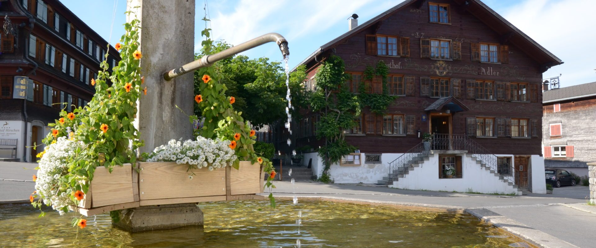 Dorfbrunnen Schwarzenberg (c)Marco J. Rusch