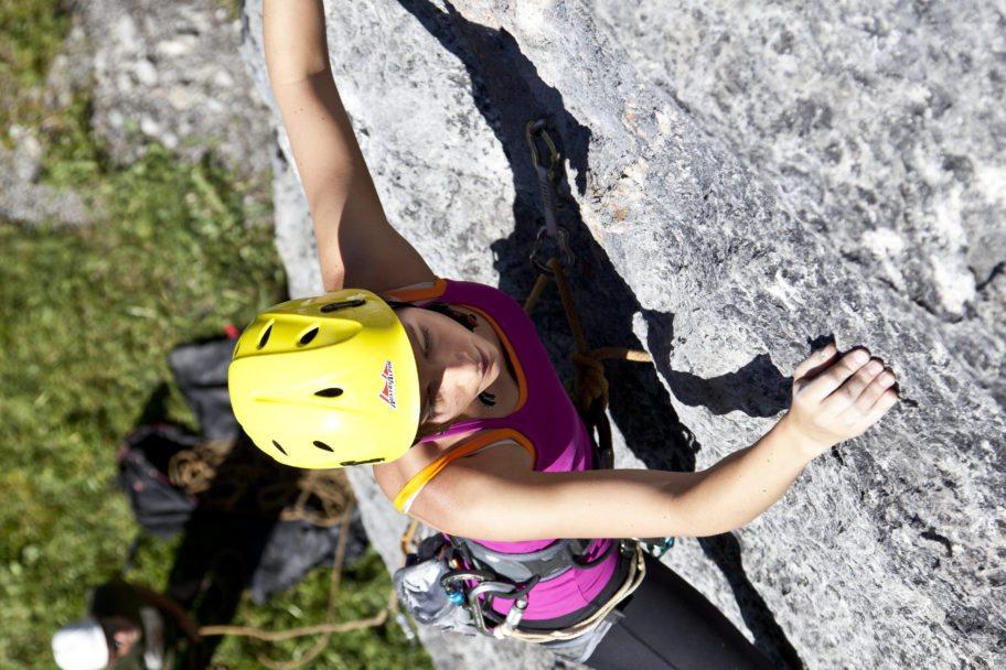 Klettern, Klettergarten Schrofenwies (c)Warth-Schröcken Tourismus