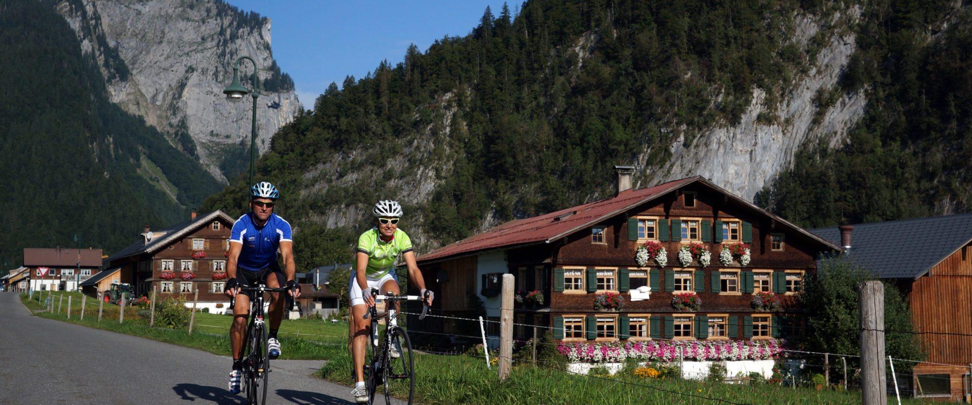 Rennrad © Ludwig Berchtold_Bregenzerwald Tourismus