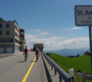 Rennrad Furkajoch Appenzell