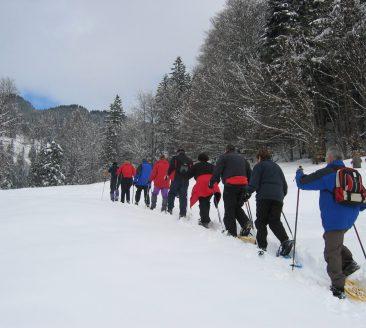 Schneeschuhtour Bizau