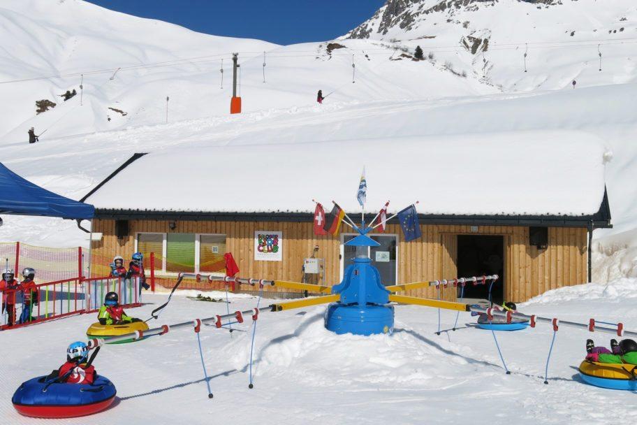 Skischule Salober-Schröcken-Kinderland_Neue Kinder Lounge