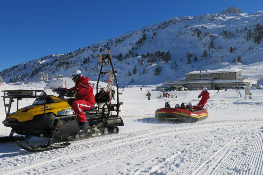 Skischule Salober-Schröcken-Skidoorafting mit Harry