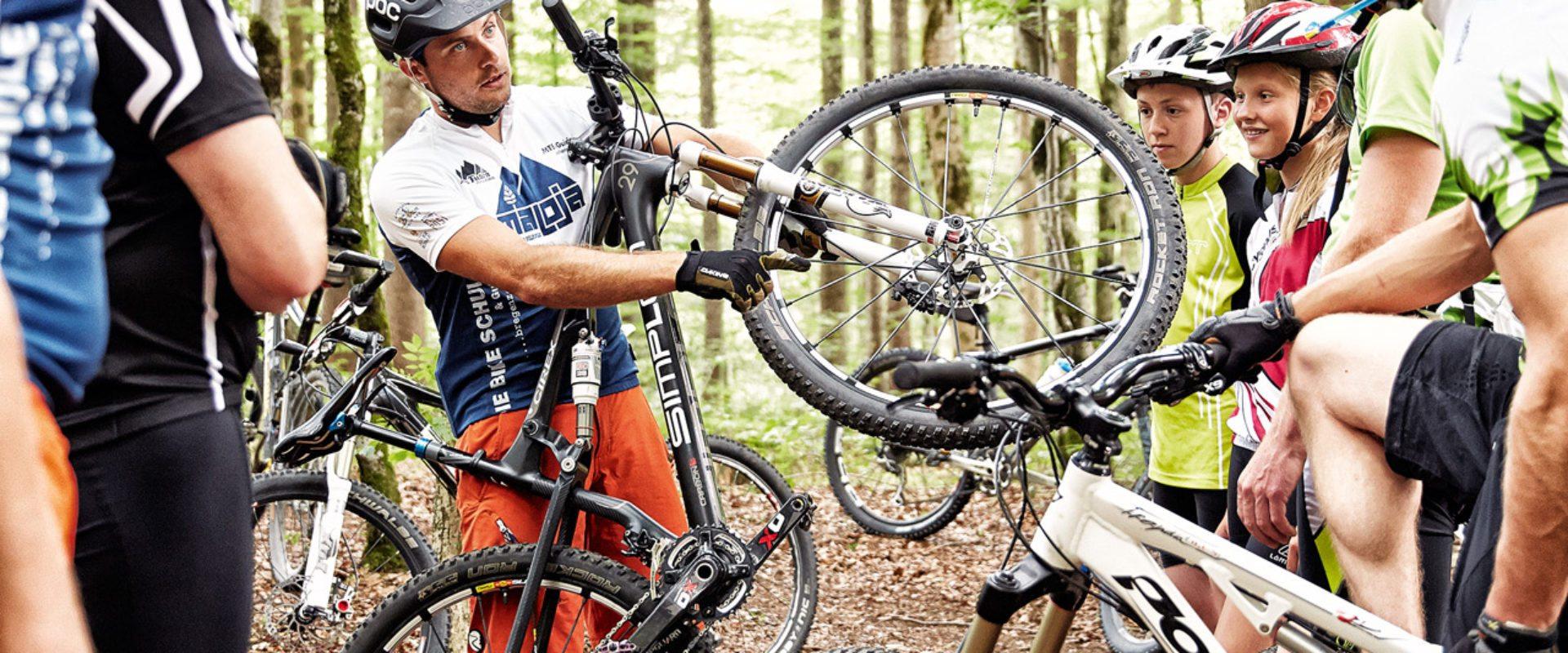 Am Bike zum Panoramarundblick