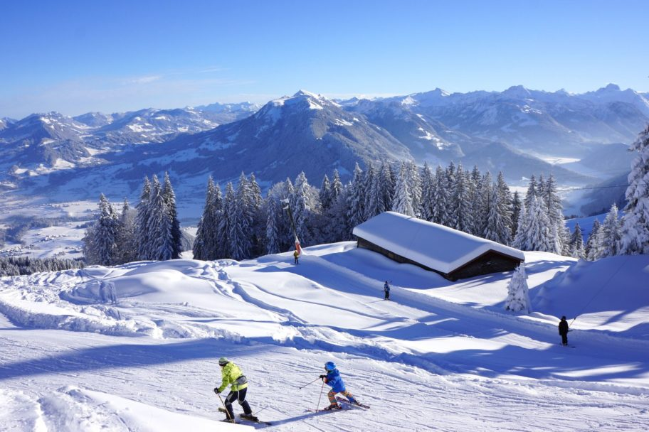 Alpenblickabfahrt Bödele-Schwarzenberg © Alois Metzler / Schwarzenberg Tourismus