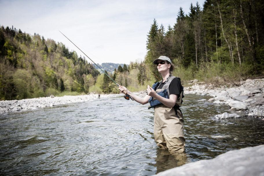 Fliegenfischen im Bregenzerwald © Michael Namberger / Bregenzerwald Tourismus