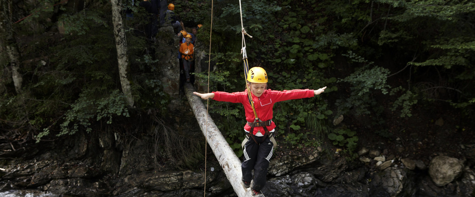 Kinder Abenteuertag © Christoph Lingg / Bregenzerwald Tourismus