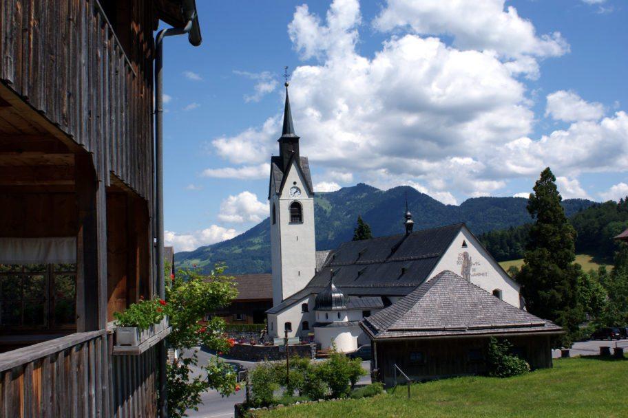 Kirche Schwarzenberg © Alois Metzler / Bregenzerwald Tourismus