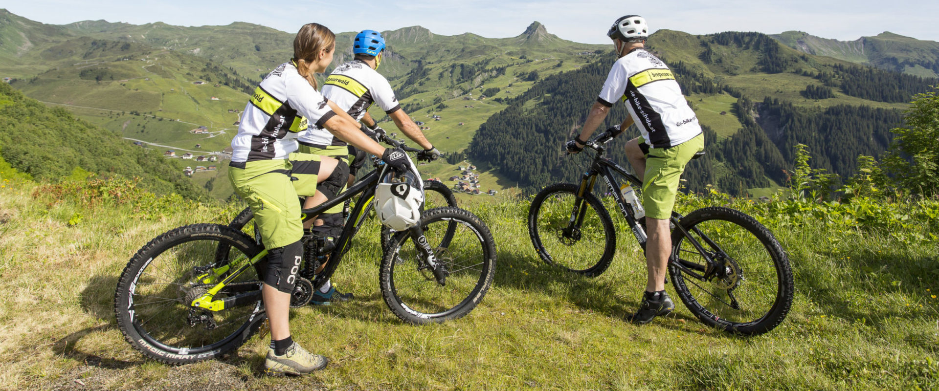 Mountainbike © Stephan Schatz / Bike-Schule Au-Schoppernau
