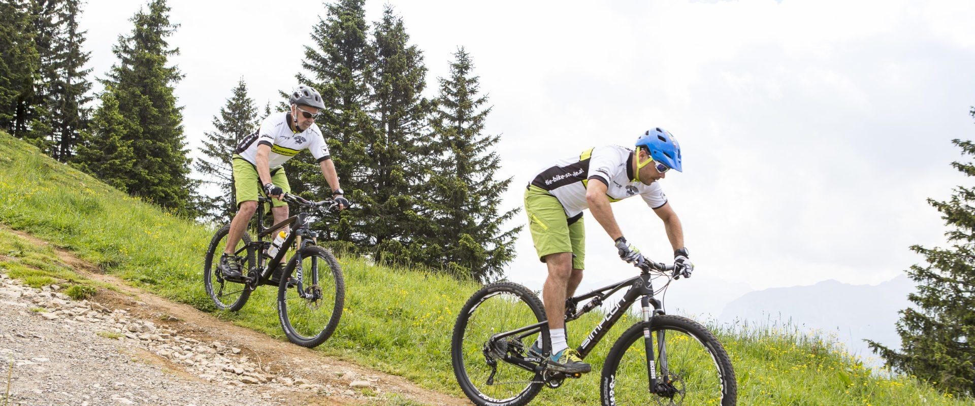 Mountainbike © Stephan Schatz / Bike Schule Au-Schoppernau