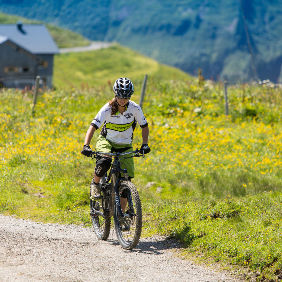 Mountainbike-Karte Bregenzerwald