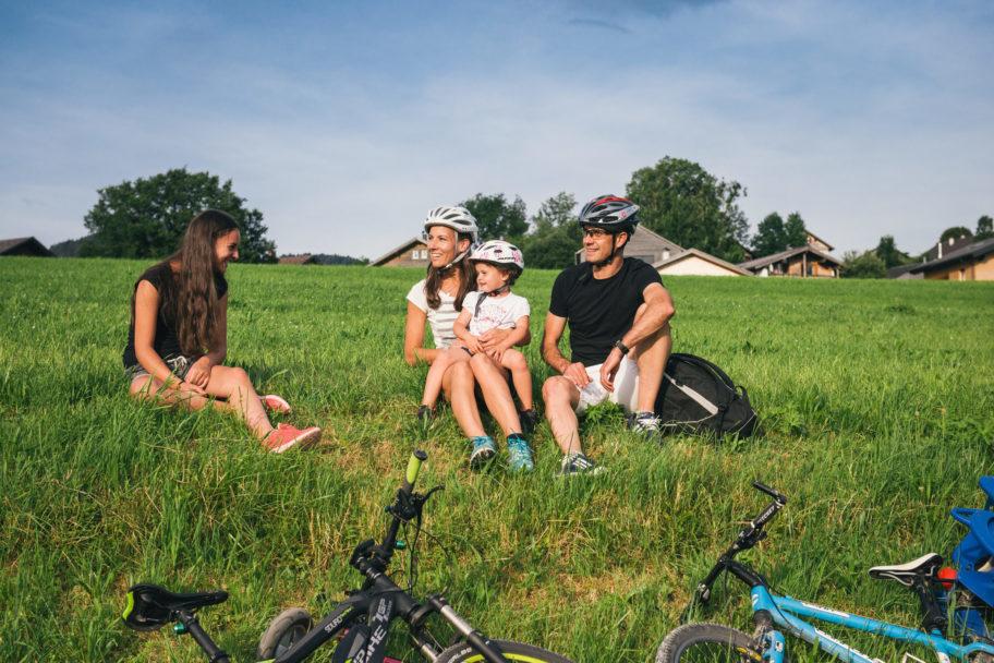 Radfahren Achtalweg © Benjamin Schlachter / Bregenzerwald Tourismus