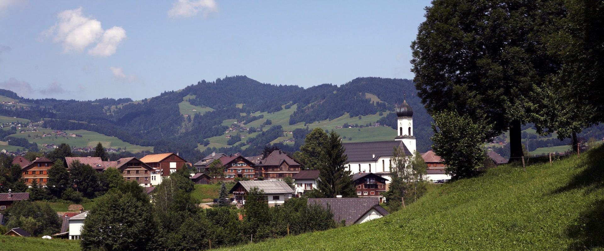 Schwarzenberg © Christoph Lingg / Bregenzerwald Tourismus